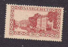 Saar, Scott #130, Mint Hinged, Scene Of Saar, Issued 1927 - Nuevos