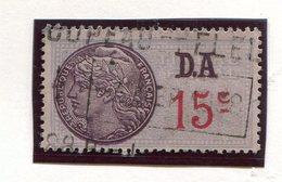FRANCE- Timbre Fiscal Y&T N°175 (type I) De 1936-42- Oblitéré - Fiscales