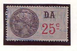 FRANCE- Timbre Fiscal Y&T N°177 (type I) De 1936-42- Oblitéré - Fiscales