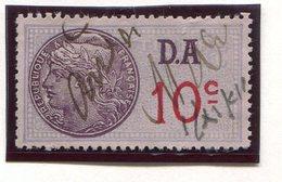FRANCE- Timbre Fiscal Y&T N°174 (Type II) De 1936-42- Oblitéré - Fiscales