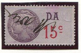 FRANCE- Timbre Fiscal Y&T N°175 (Type II) De 1936-42- Oblitéré - Fiscaux