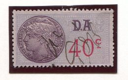 FRANCE- Timbre Fiscal Y&T N°181 (Type II) De 1936-42- Oblitéré - Fiscales