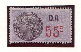 FRANCE- Timbre Fiscal Y&T N°184 (Type II) De 1936-42- Oblitéré - Fiscaux