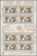 Czechoslovakia / Stamps (1992) 3006 A: 500th Anniversary Of The Discovery Of America (EUROPA / CEPT) Painter: Adolf Born