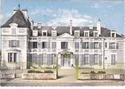 Carte Postale Des Années 60 De L'Yonne - Vincelles - Le Château, Colonie De Vacances - France