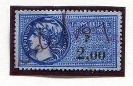FRANCE- Timbre Fiscal Y&T N°400a) De 1970-78- Oblitéré - Fiscaux