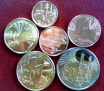 AZERBAIJAN 2005 * FULL SET OF COINS * UNC
