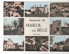 CPSM 24 - MAREUIL SUR BERRE Multivues Souvenir N° 2 C -  Peu Courante - Francia