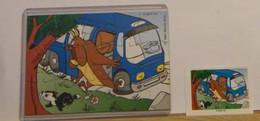 MONDOSORPRESA - PUZZLE FERRERO, LOONEY TUNES - K98 N°81 SETTORE A + CARTINA - Puzzles