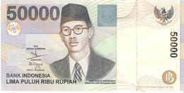 Indonesia - Pick 139f - 50.000 (50000) Rupiah 1999 - 2004 - Unc - Indonesia
