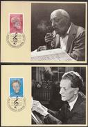 Switzerland 1985 / Europa CEPT / Music / Frank Martin / Ernest Ansermet / MC - Musica