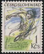 Czechoslovakia / Stamps (1992) 3013: European Junior Championships In Table Tennis; Painter: Igor Rumansky