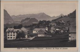 A - Les Sciernes D'Albeuve - Rochers De Naye Et Jaman - Photo: Ch. Morel No. 3209