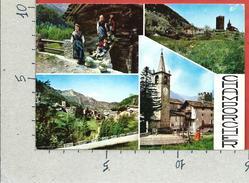 CARTOLINA VG ITALIA - VALLE D'AOSTA - CHAMPORCHER (AO) - Vedutine - Panorama - 10 X 15 - ANN. 1974 - Italia