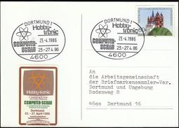 Germany Dortmund 1986 / Computer Exhibition / HOBBY-TRONIC