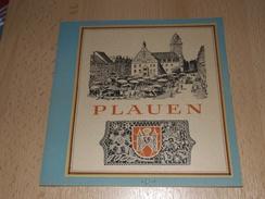 Vordruckblatt  -Plauen-1946 - Alben & Binder