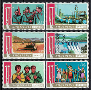 Albania 1969 _ The 25th Anniversary Of Liberation And Triumph At The People's Revolution - Ful Set MNH** - Albania