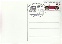 Germany Dortmund 1986 / Car Exhibition - Cars