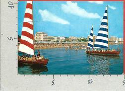 CARTOLINA VG ITALIA - RICCIONE (RN) - Gita In Barca - 10 X 15 X 2 - ANNULLO 1968 - Rimini