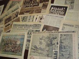 1950 FIFA WORLD CUP CHAMPIONS IN PEÑAROL URUGUAY SOCCER CLUB NEWSPAPER LOT - Otras Colecciones