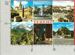 CARTOLINA VG ITALIA - TERAMO - Panorama - Vedutine -  10 X 15 - ANN. 1970 - Teramo