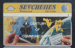 SEYCHELLES SEY20 120u Century Of Telecom 1893-1993 211A Used L&G Optical