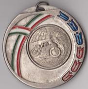 MEDAGLIA  X MOTORADUNO NAZIONALE -BUSCATE   1 MAG 1984 (60814) - Italia
