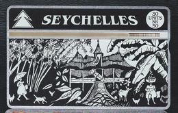 SEYCHELLES SEY29 30u Creol House 408A Used L&G Optical - Seychelles