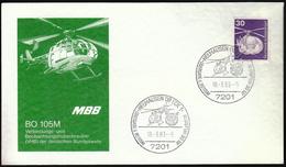Germany Neuhausen Ob Eck 1983 / Helicopter / German Army Aviation / BO 105M