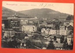 IAF-29  Riesengebirge Johannisbad In Böhmen  Janské LáznÄ› Gelaufen In 1912 Nach Roubaix FR - Tsjechië