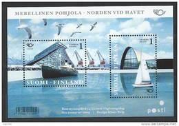 Finlande 2010 Bloc  Neuf N°56 Norden, La Vie Au Bord De La Mer