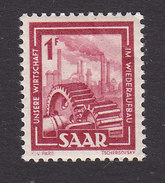 Saar, Scott #206, Mint Never Hinged, Factory, Issued 1949 - 1947-56 Protectorate