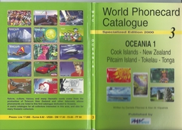 World Phonecard Catalogue Specialised Edition 2000 3 Oceania 1 Old Reference Book - Telefonkarten