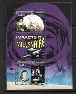CAMBODGE 2001 ESPACE-C.COLOMB  YVERT N°B175 NEUF MNH** - Space
