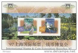 Australia 1997 Shanghai 07 Expo  Miniature Sheet MNH - 1990-99 Elizabeth II