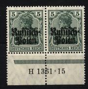 Deutsche Post In Polen,2,1361.15,xx - Besetzungen 1914-18