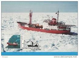 AAT-2003 Ships 50c Magga Dan    Maximum Card - Maximum Cards
