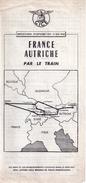France Autriche Par Le Train, 1957 - Europe