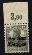 Deutsche Post In Polen,6b,OR P,xx,gep. - Besetzungen 1914-18