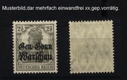 Deutsche Post In Polen,6b,xx,gep. - Besetzungen 1914-18
