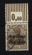 Deutsche Post In Polen,7a,OR W,o,gep. - Besetzungen 1914-18