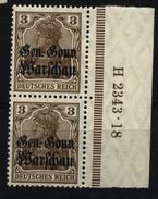 Deutsche Post In Polen,7b,2343.18,xx - Besetzungen 1914-18