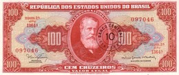 "BRAZIL 10 CENTAVOS ND (1967) P-185b UNC CORRECT SPELLING OF ""MINISTRO"" [BR805b] - Brazilië"