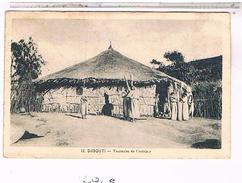 DJIBOUTI  TOUCOULES  DE  L´  INTERIEUR     +  PERSONNAGES         1S686 - Gibuti
