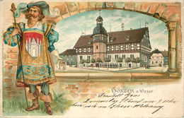 HÖXTER A WESER - Vue Générale Carte 1900. - Hoexter