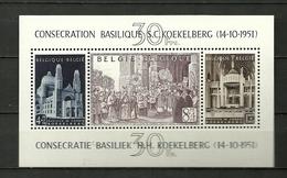 (07.02) BELGIE *  Blok 30 CW 185.00   (zegels Zijn Wel **)