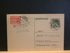67/217   LETTRE POUR ALLEMAGNE 1922 - Stamped Stationery
