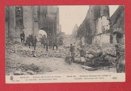 Maixe  -- Soldats Déblayant Le Village  --  Réparée - Otros Municipios