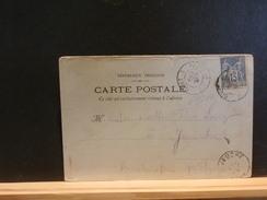 67/205  CP  DE SAINT-DIE  1899  OBL. AMB. GIVET A PARIS