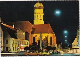 Schongau: VOLVO 164, PONTIAC FIREBIRD TRANS AM, VW 1500 - Maria Himmelfahrt Kirche - (Obb., D) - Voitures De Tourisme